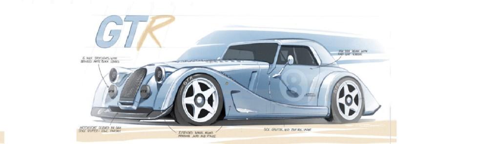 Slider Morgan GTR neu